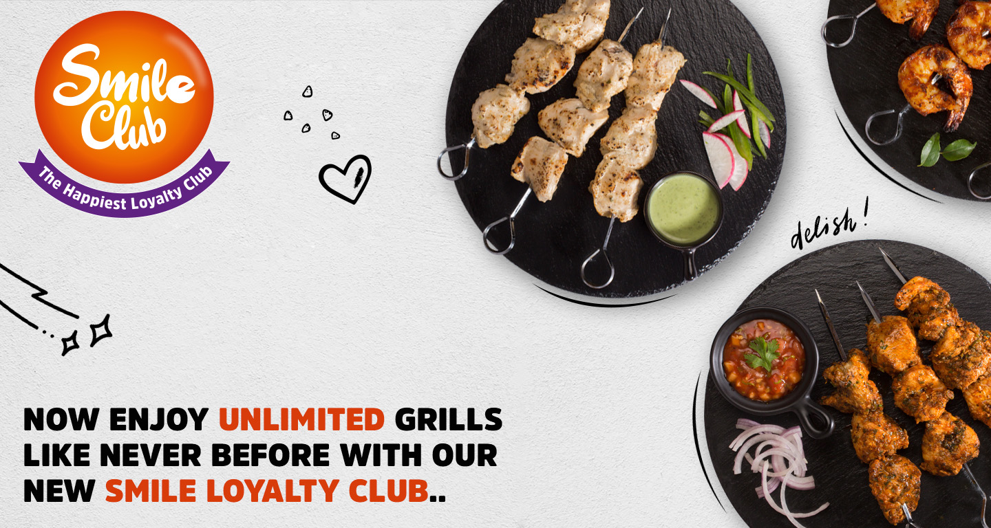 Barbeque Nation Smile Loyalty Club